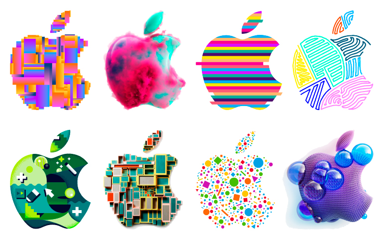 370 apple logos