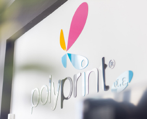 Polyprint old logo
