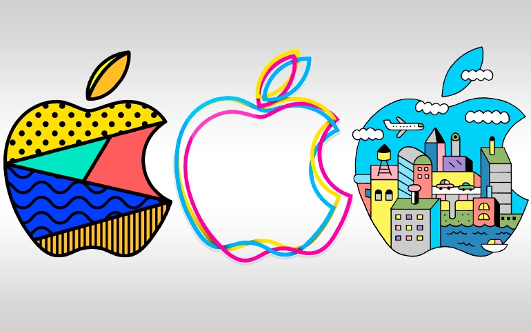 370 new Apple logos