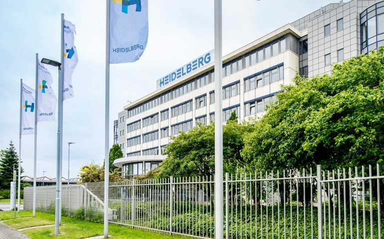 Heidelberg to sell factory