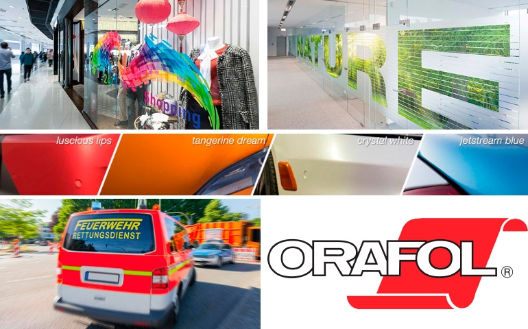Orafol New products 2018